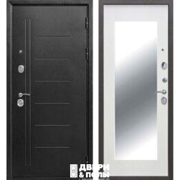 vhodnaya dver troya maxi serebro belyj yasen