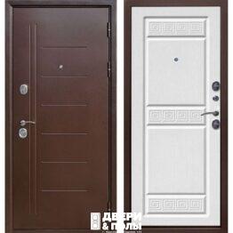 vhodnaya dver troya mednyj antik belyj yasen