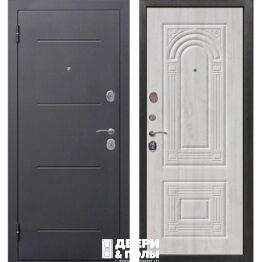 vhodnaya dver garda florencziya 75 sm serebro belyj yasen