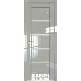 dver 2.09L galka lyuks steklo matovoe