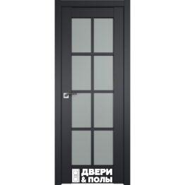 dver profildoors 101U CHyernyy matovyy matovoe