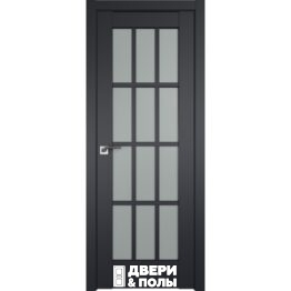 dver profildoors 102U CHyernyy matovyy matovoe