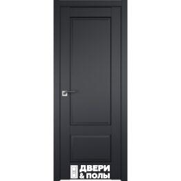 dver profildoors 105U CHyernyy matovyy