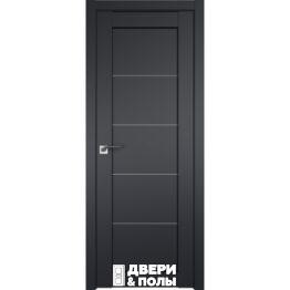 dver profildoors 2.11U CHyernyy matovyy matovoe
