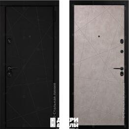 stalnaj linij dveri kleo beton